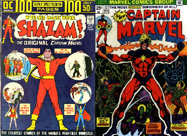 Two Captain Marvels