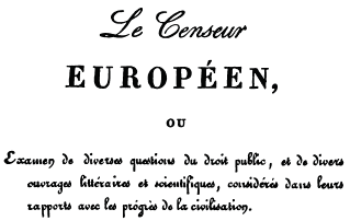 Le Censeur Europeen