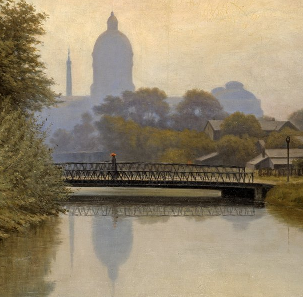 R. B. Gruelle - Canal Morning Effect, 1894