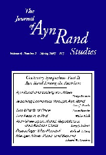 Journal of Ayn Rand Studies
