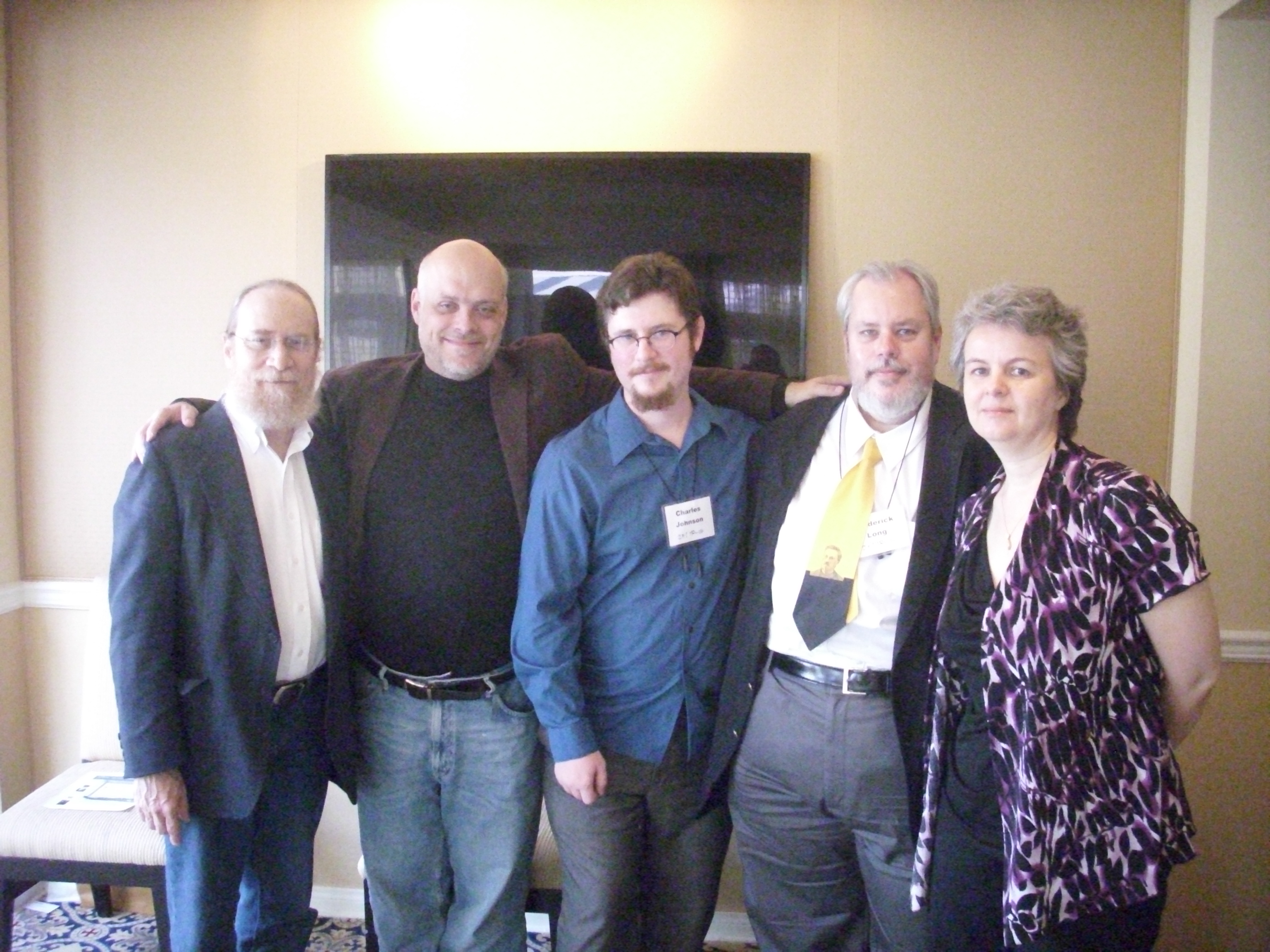 Sheldon Richman, Gary Chartier, Charles Johnson, Roderick Long, Jennifer McKitrick