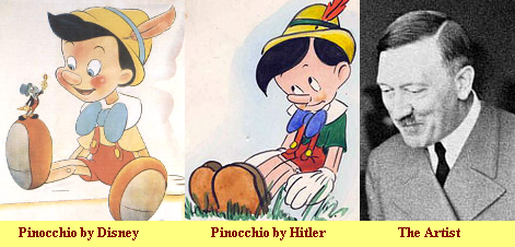 Pinocchio by Hitler