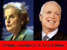 Granny Goodness & Lex Luthor