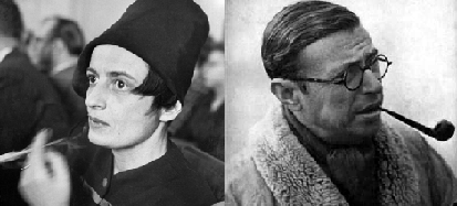 Ayn Rand and Jean-Paul Sartre