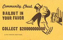 Community Chest: Bailout in your favor - collect $20000000000