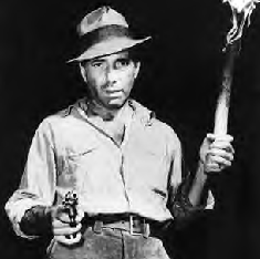 Bogart in the movie version
