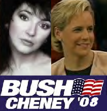 Kate Bush and Mary Cheney