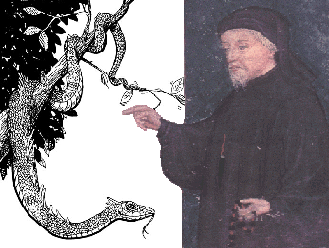 Chaucer versus the Snake