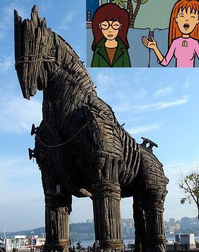 Daria, Quinn, and the Trojan Horse