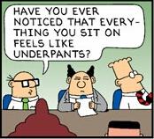 Dilbert's Copernican Revolution