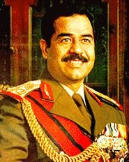 Hi!  My name is Saddam Hussein