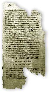 Gnostic manuscript