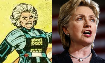 Granny Goodness / Hillary Clinton