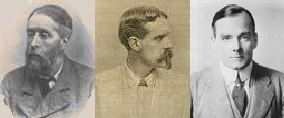 Auberon Herbert, Wordsworth Donisthorpe, and Richard Harding Davis