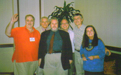 Keith Halderman, Mark Brady, me, David Beito, Jonathan Bean, Wendy McElroy
