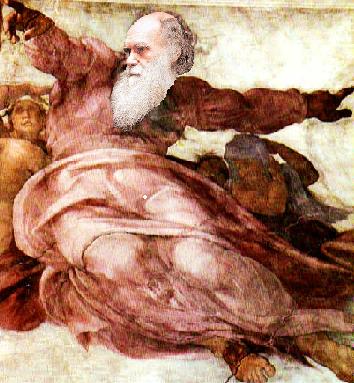 Darwin as Jehovah