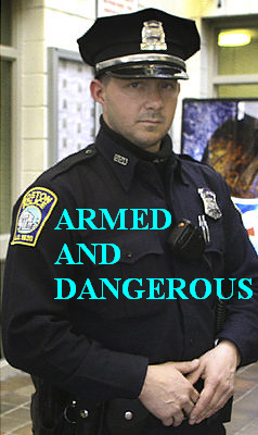 Justin Barrett - armed and dangerous