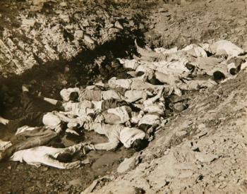 mass grave in Korea