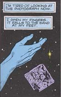 Dr. Manhattan littering