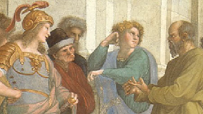 detail from Rapahel's School of Athens