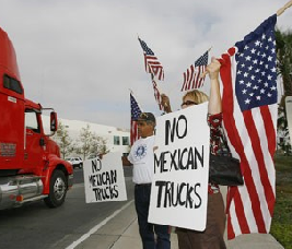 NO MEXICAN TRUCKS
