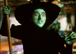 Witch from Wizard of Oz movie