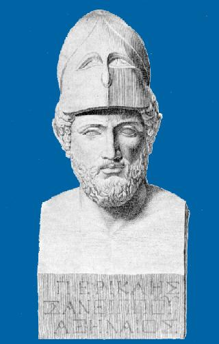 Pericles, son of Xanthippus, Athenian