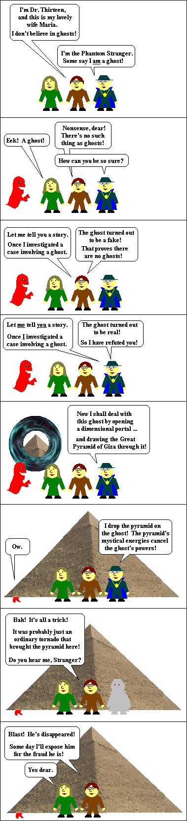 Phantom Stranger parody