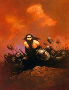 Picts by Frazetta