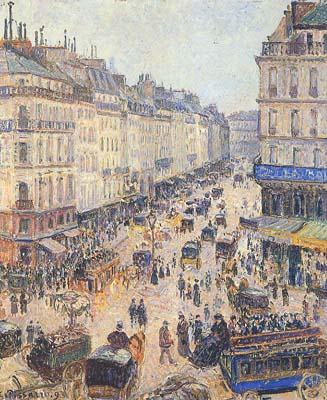 Pissarro's Rue St. Lazare