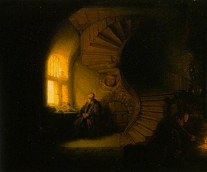 Rembrandt - The Philosopher