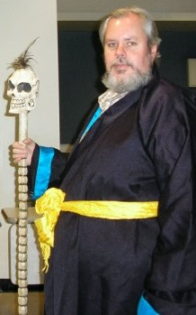 me as Yama, Lord of the Dead - photo credit to Keren Gorodeisky