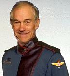 Ron Paul in Babylon 5 uniform
