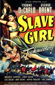 Slave Girl movie poster