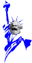 left-libertarianism means pledging allegiance to Karl Marx