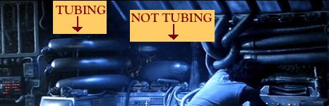 tubing vs. non-tubing in ALIEN