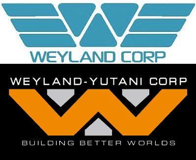 Weyland logos