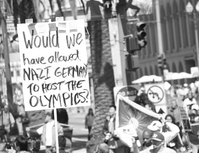 Would we have allowed Nazi Germany to host the Olympics?